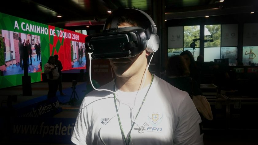 Paralympic VR at the Sports Innovation Exhibition