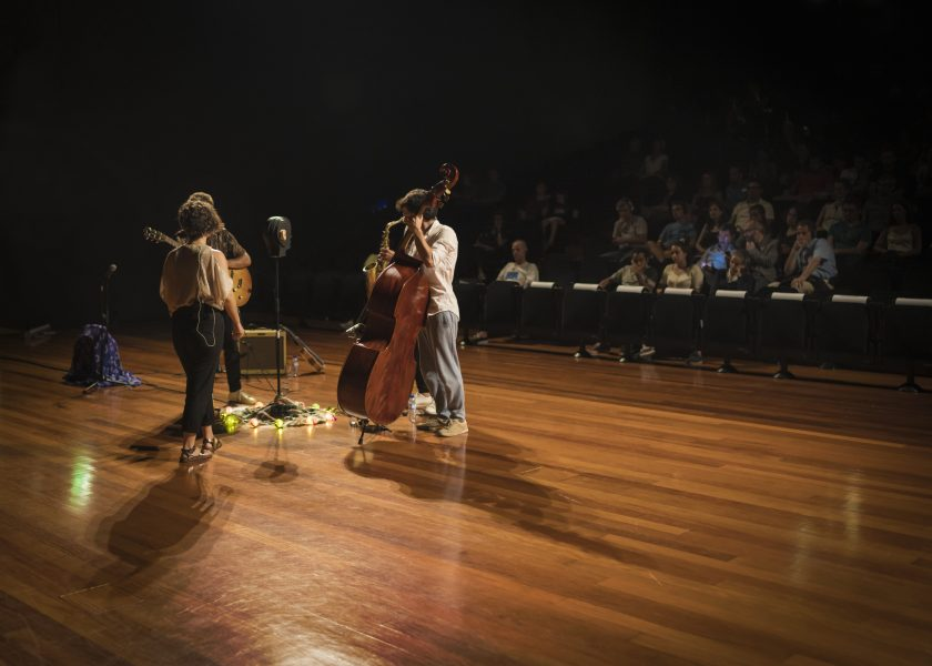 Manuel Heitor attended the first binaural concert in Portugal