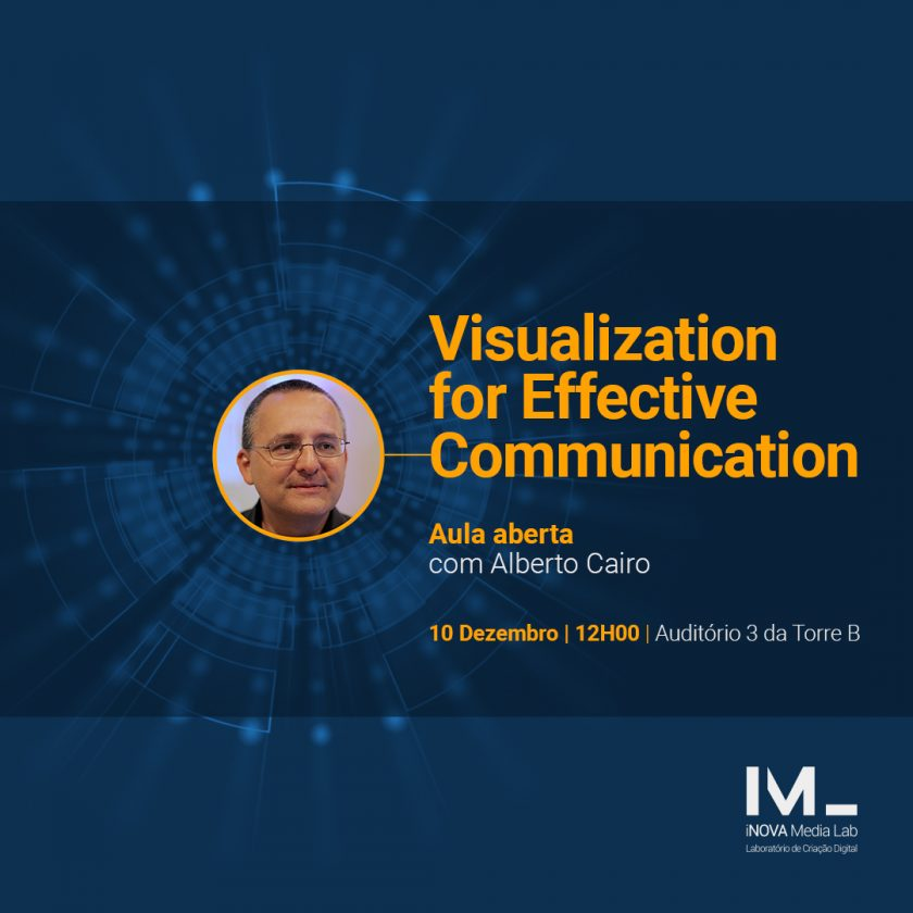 Open class with Alberto Cairo: Visualization for Effective Communication