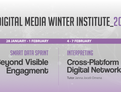 Digital Media Winter Institute 2019