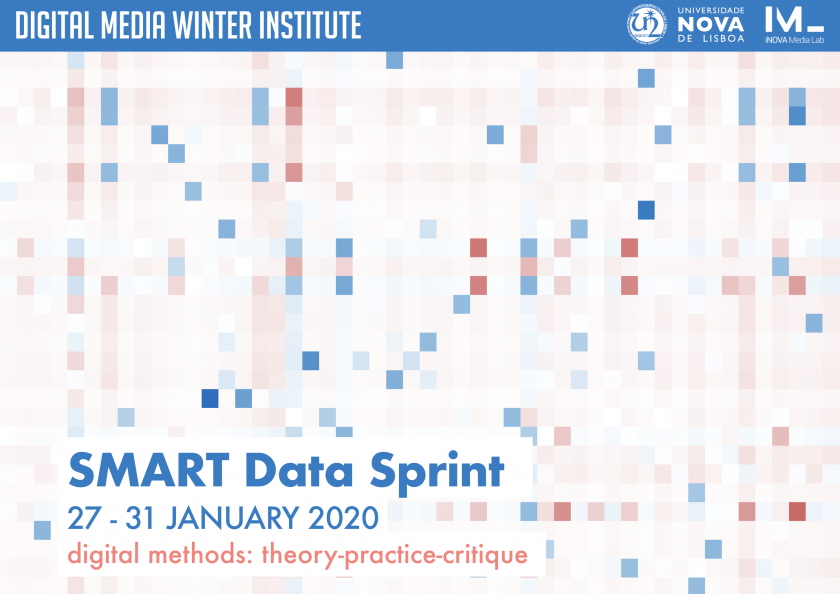 """""""Digital Methods: theory-practice-critique"""" is the theme of SMART data Sprint 2020"""