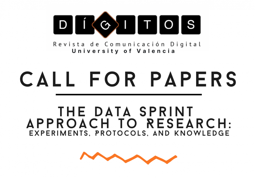 Call for Papers: The Data Sprint Approach to Research: Experiments, Protocols and Knowledge
